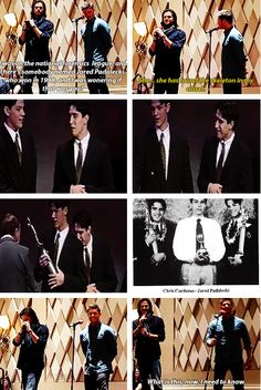 [gifset] Jared about winning the national foresnics league! #Jared and #Jense
