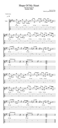 63 best Classical guitar tabs and songs to learn images on Pinterest ...