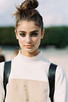 Taylor Marie Hill (wearing Acne Studios Beta flock sweatshirt),... - http://clothes.fashiontaste.net/wp/clothes-fashiontaste-2/taylor-marie-hill-wearing-acne-studios-beta-flock-sweatshirt