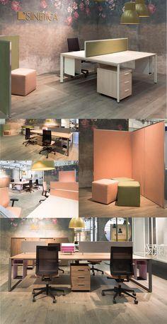 Operative area | DIAMON desk | ALUSCREEN screen | BLUE chair