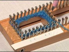 Sock Loom - Cuff Get all your Knitting Looms & Knitting Patterns for your next Knitting Project at Authentic Knitting Board Always wanted. Knitting Loom Socks, Spool Knitting, Knifty Knitter, Loom Knitting Projects, Finger Knitting, Knitting Videos, Yarn Projects, Knit Socks, Sock Loom Patterns