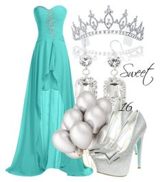 """Sweet 16 #1"" by miizz-starburst ❤ liked on Polyvore featuring мода, Bling Jewelry, Vieste Rosa и Betsey Johnson"