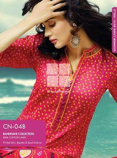 Gul Ahmed Bandhani Chunri Collection 2014 Volume II For Women