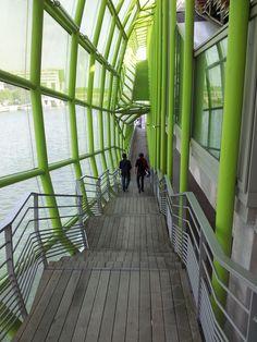 Dock en Seine, Paris Green Algae, Fair Grounds, Stairs, Architecture, Fun, Travel, Design, Decor, Arquitetura