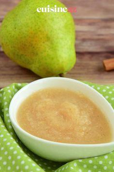La compote de poire s'harmonise très bien avec la cannelle. Cette recette de compote de fruits est délicieuse pour le printemps. #recette#cuisine#compote #poire #fruit #cannelle Jelly, Salads, Fruit Compote, Cinnamon, Healthy, Pears, Spring, Jelly Beans, Jello