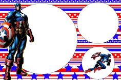 Marcos de Capitán América para descargar   Imágenes para Peques