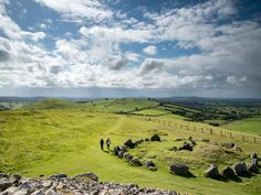 Ireland's Ancient East- Loughcrew Cairns Ancient Ruins, Cairns, Circuit, Travel Guide, Ireland, Golf Courses, Mountains, Nature, Irish Language