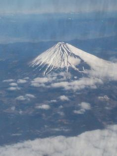 Mt.Fuji view from B777