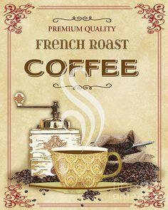 French Roast Coffee-jp2251 / Jean Plout
