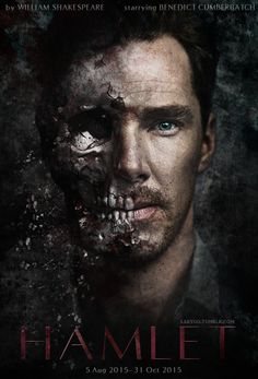 hamlet benedict cumberbatch poster - Google Search