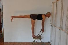 86 best iyengar yoga chair standing poses images  asana