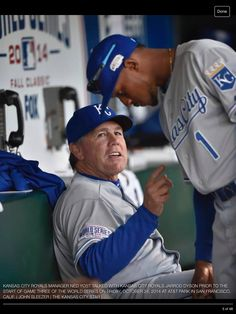 A little advice from the Royals head coach for Mr. Dyson.