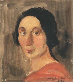 Константин Иванович Рудаков (1891–1949гг). Портреты. - Музей рисунка