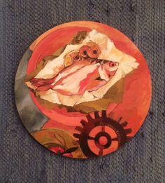 """""""Pequeña sobremesa"""" 060 x 060 Óleo sobre madera"""