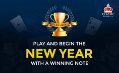 Play & begin the New Year with a winning note @ classicrummy.com  #rummy #classicrummy #play #newyear #rummyonline Rummy Online, Free Games, Indian, Note, Play, Classic, Derby, Classic Books