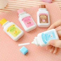 Buy Cute Choco Milk Design Correction Tape Material Escolar Kawaii Kids Student Stationery Gift School Office Supplies Papelaria at Wish - Shopping Made Fun School Stationery, Kawaii Stationery, Korean Stationery, Diy Pour Enfants, Gift Logo, School Suplies, Correction Tape, School Accessories, Kawaii Accessories