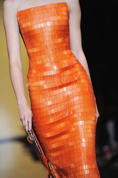 A Model walks the runway during the Giorgio Armani Prive Haute Couture Fall/Winter 2011/2012 show as part of Paris Fashion Week at Palais de Chaillot on July 5, 2011 in Paris, France.