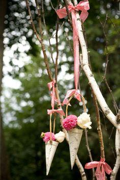 birch-wedding-cones