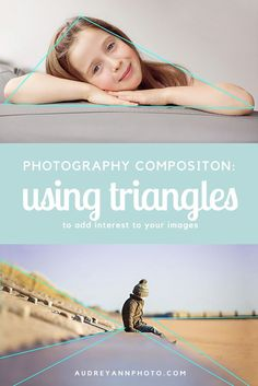 Composition Tip: Use triangles to add interest and draw viewers eye around the frame (with lots of examples).