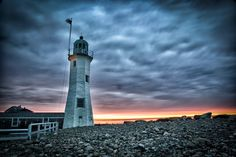 This is an early morning picture I took at the Old Scituate Lighthouse. Photo by: Michael Noirot