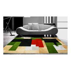 patchwork cowhide rug moroni