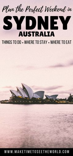 Plan the ultimate Sydney Weekender with suggestions of Things To Do, Where to Stay & Where to Eat to enjoy your short trip to the city ****************************************************************************************************** Things To Do in Sydney | Sydney Things To Do | Sydney Australia | How To Get Around Sydney | Weekend in Sydney | 48 Hours in Sydney | Long Weekend Sydney | Sydney Tips from a Local
