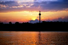 The sunset of city and danube by Capatan  David Sorin on 500px