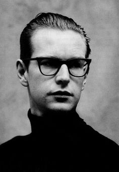 Andy Fletcher (1961) - English keyboardist and founding member of the English electronic band Depeche Mode. Photo by Anton Corbijn, 1988