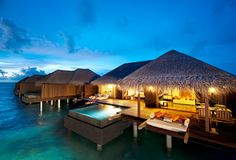 Maldives - Ayada Resorts my mother would absolutely love it here I have to take her for a birthday or two
