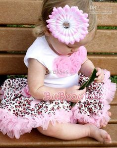 Wholesale 3 sets/lot TankTutu 2PCS, Pink and Leopard Print Baby Tutu Dress, Pettiskirt,Girls' Tutu Skirt -CF, Free shipping, $13.93-16.34/Set | DHgate
