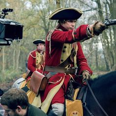 Ride along with the action on set. #BehindTheScenes #Outlander