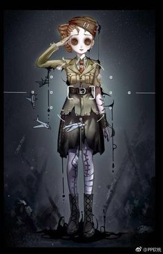 identity v fanart Identity Art, No Name, Gothic Art, Beautiful Homes, House Beautiful, Yandere, Human Drawing, Some Pictures, Character Concept