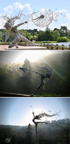 All around the world, in almost any city or town, you can find many monuments, sculptures and statues displayed in parks, squares or other places. These public artworks represent different things, but most usually they are monuments dedicated to fallen heroes, distinguished individuals or represent some significant part of the history. But some of them are pure art, representing their artist's inspiration and message #art