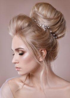 Crystal Wedding Headband Bridal Crown Wedding Headpiece