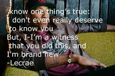 Lecrae- Tell the World