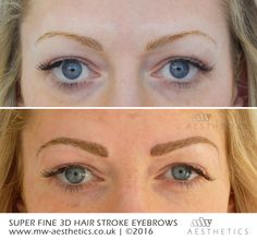 Beverley White Permanent Make-up Combination of hair ...