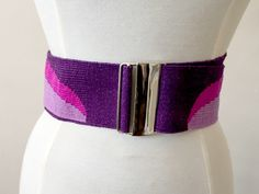 Vintage 1970s Woven Fabric and Metal Buckle Belt One Size by BlackLodgeVintage on Etsy https://www.etsy.com/listing/250590016/vintage-1970s-woven-fabric-and-metal