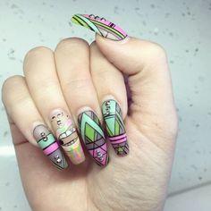 Work with LOVE   #yegnails #closeup # ALL DONE BY FREEHAND #edmontonnails #clientview #780nails #edmontonnailtech #cute #fade #edmlifestyle #edm #swarovski #blingnails #acrylicnails #fullset #yegnailtech #lacenails #nails #handpainted #freehanddesign #colors #nailart #no19 #greynails #grey #blacknails #greyandblack #linework #workwithlove #pinknails #blingnails #nailsofinstagram