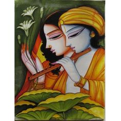 RADHA KRISHNA HAND PAINTED(PAINTING-114) Rs. 7699.00  @ArtistryC: Online Multi- Brands Retail Shop: Best Buy: Best Value Deals in Jewellery, Electronic Gadgets, Clothing, Accessories, Bath & Body Products, Footwears, Home & Office Living, Corporate Gifting, Loyalty Programs, and Personalize Products Offering