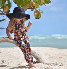Little girl with adult style at the exotic beach #kids kids lifestyle #likemom little girl #littlegirl kids fashion www.circu.net Circu | Little Fashionistas