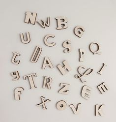 Looodus have opened an etsy shop! Alpha-Bits are 66 magnetised laser cut letters . Two full alphabets + the 13 most commonly used letters means you can actually write words.