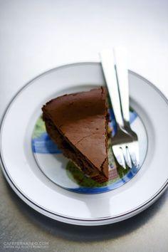 Chocolate cheesecake from Cafe Fernando