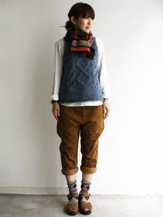 sweater vest - menswear inspired