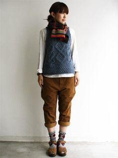 sweater vest - menswear inspired