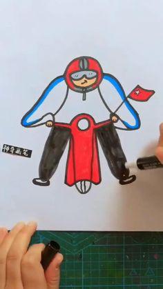 Easy Butterfly Drawing, Easy Flower Drawings, Cartoon Butterfly, Easy Drawings For Kids, Art Drawings Sketches Simple, Pencil Art Drawings, Drawing For Kids, Dress Sketches, Drawing Art