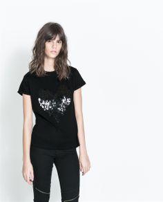 HEART T-SHIRT   $25.90 #Fashion #Trending #Womens Fashion   Visit WISHCLOUDS.COM for more...