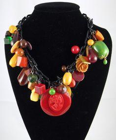 1930s Bakelite Necklace