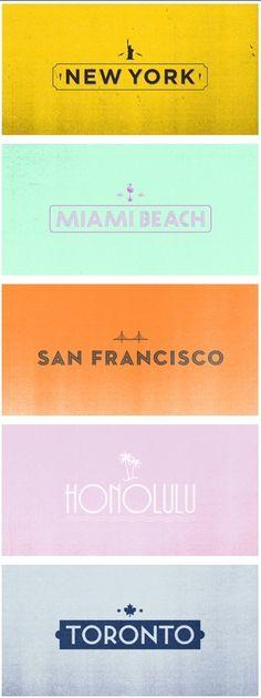 new york * miami beach * san francisco * honolulu * toronto *