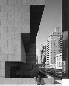 Whitney Museum of American Art, New York (1963-66)   Marcel Breuer with Hamilton P. Smith