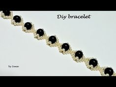WOW! Elegant bracelet tutorial in less than 10 minutes - YouTube